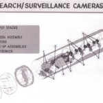 CIA spy satellite - Search/Surveillance Cameras
