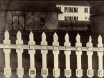 Paul Strand -  White Fence © Paul Strand