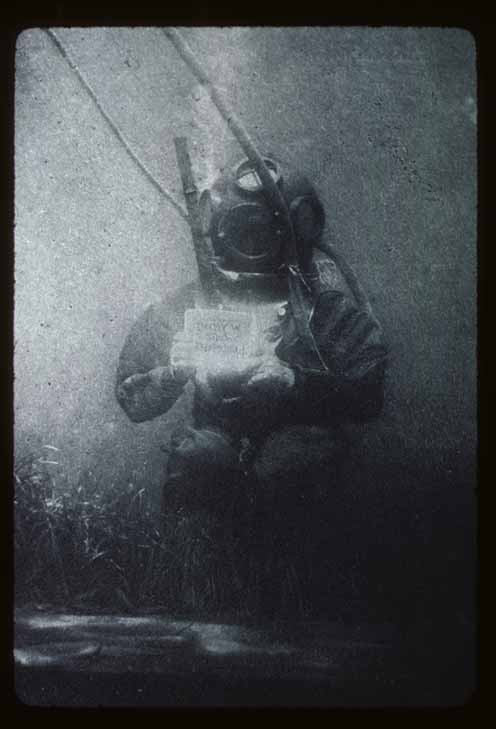 The World S First Underwater Photograph Film S Not Dead