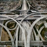 Edward Burtynsky - Highway #1 Los Angeles, California, USA, 2003 © Edward Burtynsky