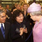 Napalm Girl - Nick Ut & Kim Phuc meeting the Queen