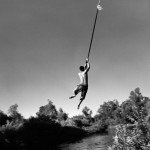 Valley of Shadows & Dreams - Rope swing, 6 p.m., 100¡F San Joaquin River, California, 2010 © Ken Light and Melanie Light