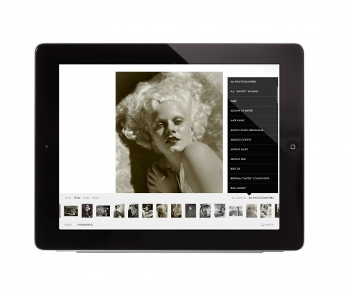 Glamour of the Gods ? Hollywood stars of the 1920s ? 1950s comes to the iPad