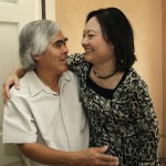 Kim Phuc and Nick Ut