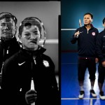 Jay L. Clendenin - 2012 Olympians: Tony Gunawan and Howard Bach © Jay L. Clendenin/Los Angeles Times All Rights Reserved