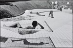 Martine Franck - Swimming pool designed by Alain Capeilleres, La Brusc, France © Martine Franck