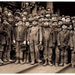 Lewis Hine - Pennsylvania Coal Co. Breaker Boys, 1910  © Lewis Hine/ George Eastman House