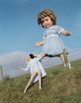 Tim Walker - Giant doll kicks Lindsey Wixson Eglingham Hall, Northumberland, 2011 © Tim Walker