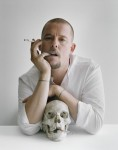 Tim Walker - Alexander McQueen with skull and cigarettes Clerkenwell, London, 2009 © Tim Walker