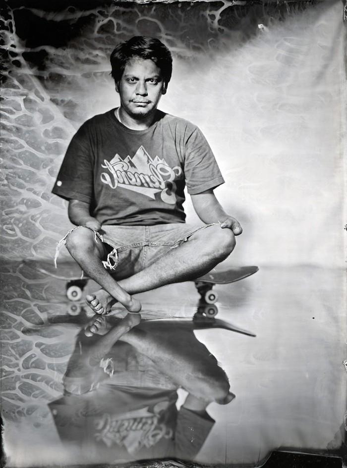 Ian Ruhter - Oscar Loreto, East LA - American Dream © Ian Ruhter