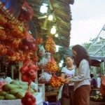 Afif kaumbo - Traditional market - Kodak Colour Plus - Manado