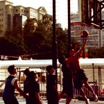 Ario Adityo - Air Time - Kodak EliteChrome - Basket Ball Pitch, Victoria Park, Causeway Bay, Hong Kong