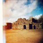Christopher White - Liverpool Castle - Lomography Xpro 200 - Lever Park, Rivington