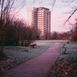 Christopher White - Roughwood Heights Morning - Kodak Profoto XL 100 - Rough Park, Kirkby Liverpool