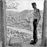 Damion Rice - Security Guard at Hampi - Fuji Acros 100asa - Hampi, India