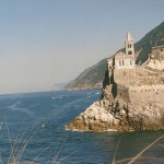 Elisa Nicolai - View of Saint Peter's church at Portovenere - Kodak ColorPlus - Pozzale, Isola Palmaria (Italy)
