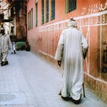 Huda Al - A dat at the old Medina Series - Kodak Portra - Marrakech