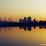 Jetinder Sira - Docklands at sunset - Agafa 400 - London Docklands, UK