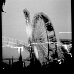 Linda Alterwitz - Night Ferris - Ilford - Santa Monica, California