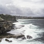 Martin De Kauwe - Stormy Beaches - Kodak Portra - Between Clovelly and Bronte beaches, Sydney