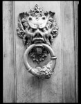 Name Christian Poulton  Title Door Knocker  Film used Ilford FP4 Plus 125  Location Citta Di Castello, Perugia (Umbria), Italy