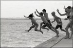Name Mark Steadman  Title Jump!  Film used Ilford HP5  Location Whitstable, Kent