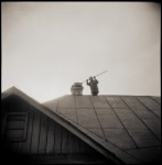 Name Michael Kirchoff  Title Chimney Sweep  Film used Kodak Tri-X  Location Listvyanka, Siberia