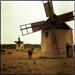 Name Thomas Zamolo  Title Windmill  Film used Lomo-redscale 50-200  Location Gotland:Sweden