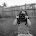 Neal Thorley - My Little Photographer - Kodak Plus-x - Townsville, Australia