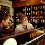 Neal Thorley - Old Man in Cafe - Kodak Portra 400NC - Townsville, Australia