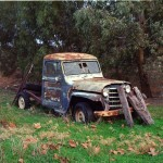 Nick Antonatos - Jeep in Anagaston - Kodak UltraMax - South Australia