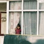 Rosaline Shahnavaz - Girl at the Window - Kodak Portra - Margate, England