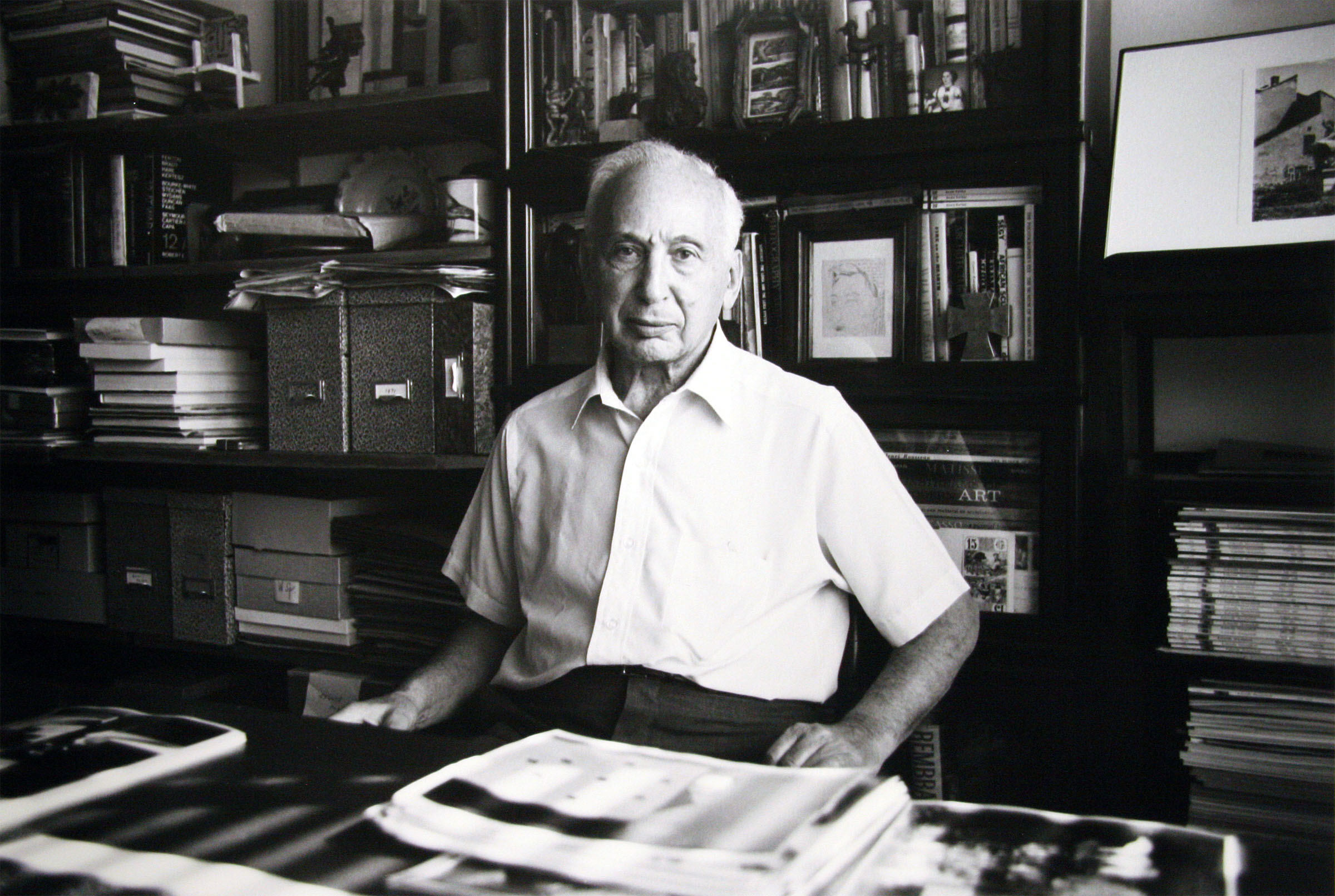 André Kertész circa 1980, by Bill Rauhauser, © Bill Rauhauser 2010