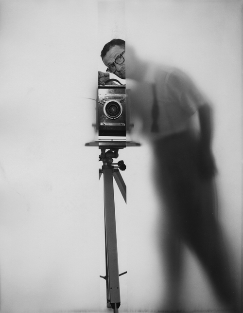 Erwin Blumenfeld - Self Portrait New York, 1950  © Erwin Blumenfeld