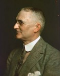 George Eastman - Early Kodachrome Colour Photographed by Joseph D'Anunzio in 1914 © Joseph D'Anunzio