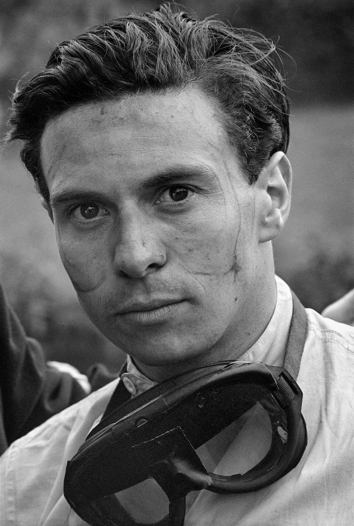 Jim Clark, Spa, Belgium, 1962 by Jesse Alexander  © Jesse Alexander / Chris Beetles Fine Photographs