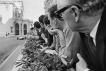 Spectators on Hotel de Paris Terrace, Monaco Grand Prix, 1966 by Jesse Alexander © Jesse Alexander / Chris Beetles Fine Photographs