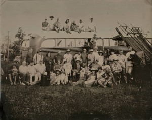 The 'Official' 2013 Jamboree Group Photo by John Coffer — Camp Tintype Dundee NY © John Coffer