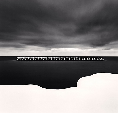 Michael Kenna - Winter Seascape, Wakkanai, Hokkaido, Japan. 2004 © Michael Kenna