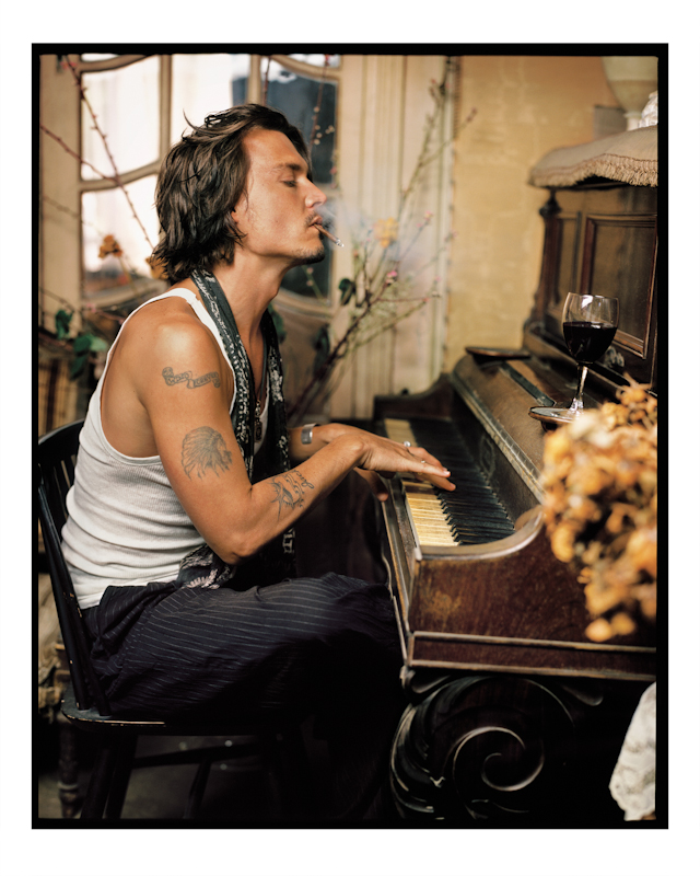 Mark Seliger - Johnny Deppp Copyright © Mark Seliger/ Beetles + Huxley