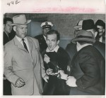 "Robert H. Jackson (1934) ""Jack Ruby Shoots Lee Harvey Oswald to Death, Dallas"" November 24, 1963  © Courtesy Daniel Blau"