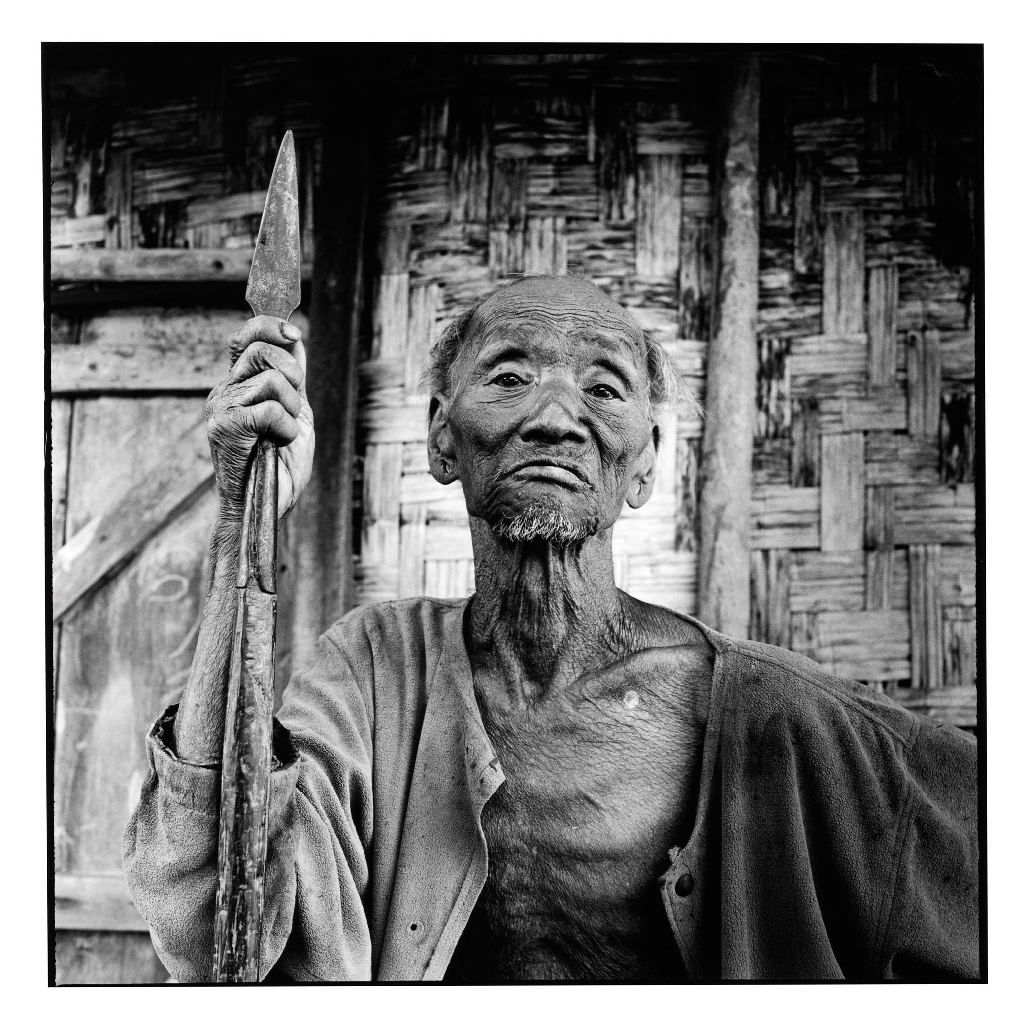 David Bailey - From the series Nagaland by David Bailey, 2012 © David Bailey/ Image courtesy NPG