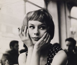 John Deakin, Girl in Café, late 1950s © The John Deakin Archive/ The Photographer's Gallery