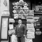 John Deakin, Tony Abbro, Abbro and Varriano, newsagents, Dean Street, Soho, 1961 © The John Deakin Archive/ The Photographer's Gallery