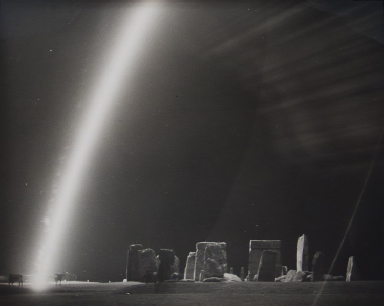 Cows and Flare at Stonehenge, 1944 © Harold Edgerton Archive, MIT. Courtesy Michael Hoppen Gallery