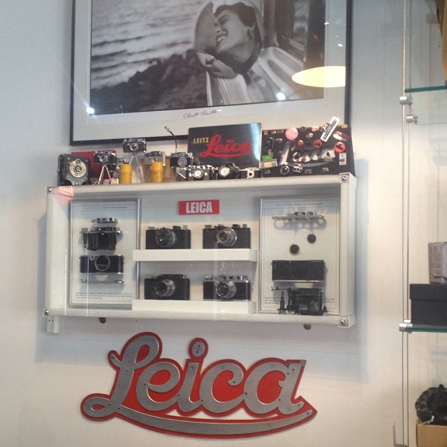A lovely collection of memorabilia at Red Dot Cameras #filmsnotdead