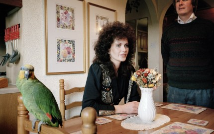 Martin Parr - We thought we could make it look sort of bistro-y looking in the kitchen and then carry it through to the lounge. 1991 © Martin Parr/Magnum, courtesy Rocket Gallery