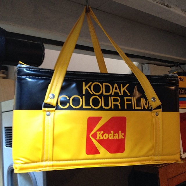 One of our new Kodak cooler bags! This time it's for sale ? @kodakcb #Filmsnotdead www.filmsnotdead.com/13mntpleasant