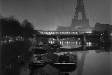 The Eiffel Tower at Twilight, 1932