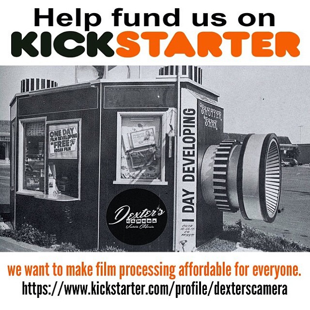 Check out @dexterscamera Kickstarter Campaign to help get their film processor up and running! #Filmsnotdead